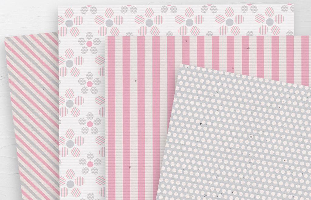Baby Girl Paper Set