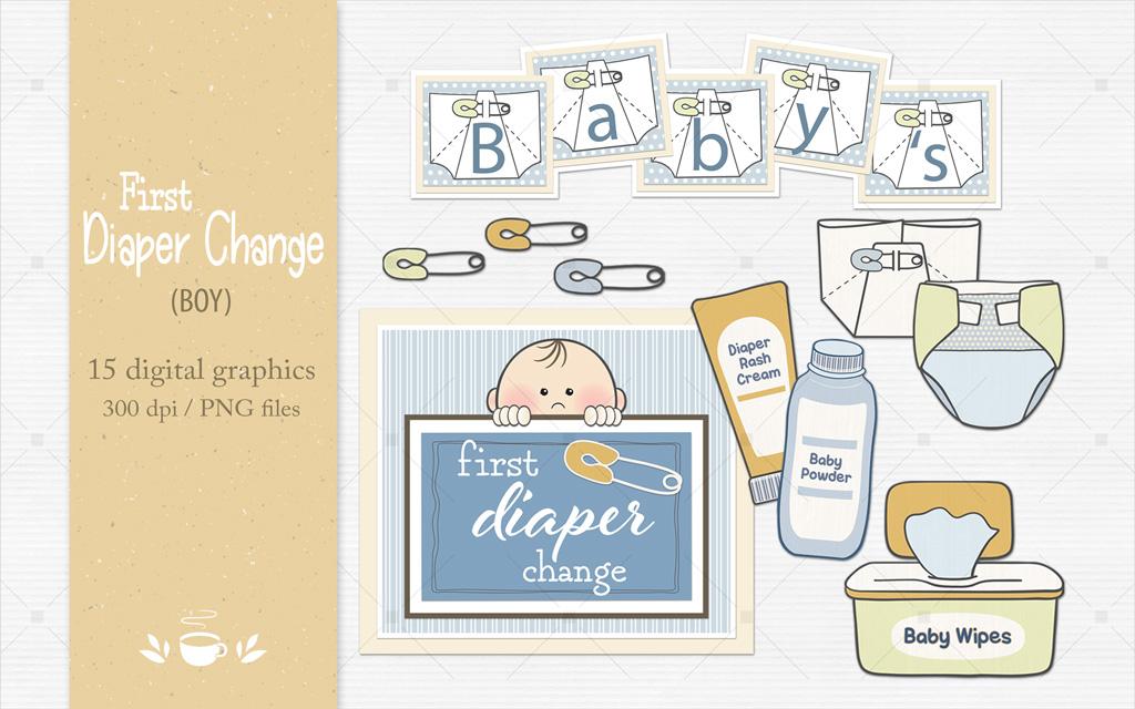 First Diaper Change (boy)