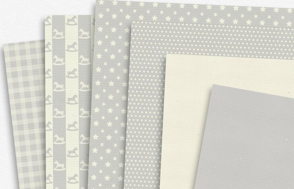 Baby Neutral Paper Set