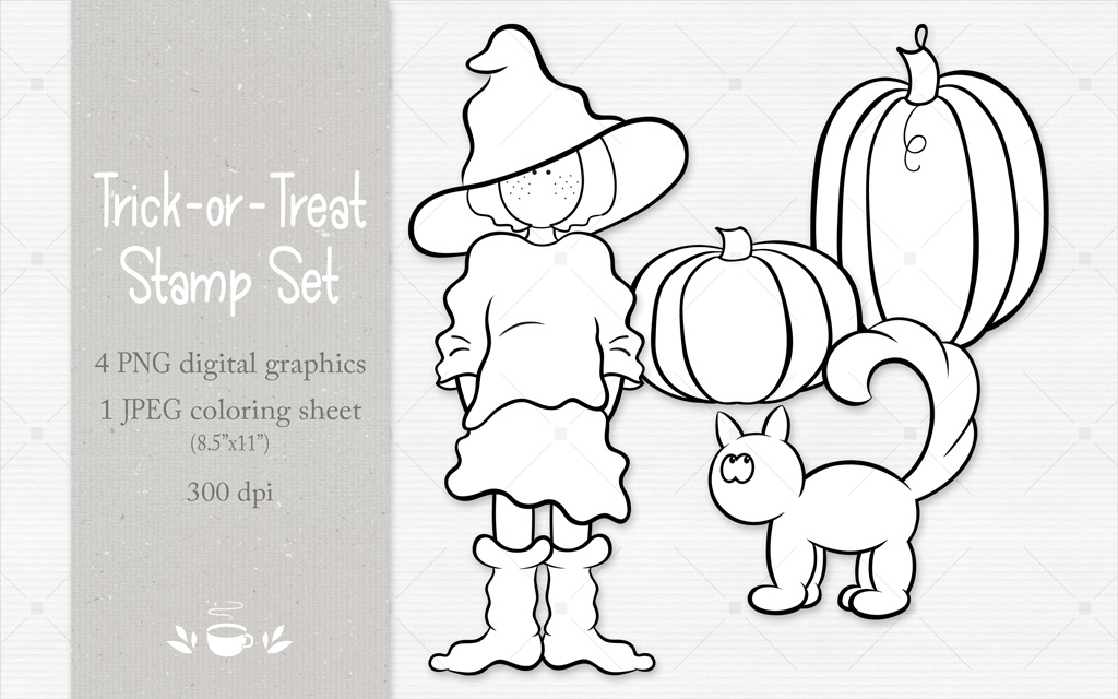 Trick-or-Treat Stamp Set